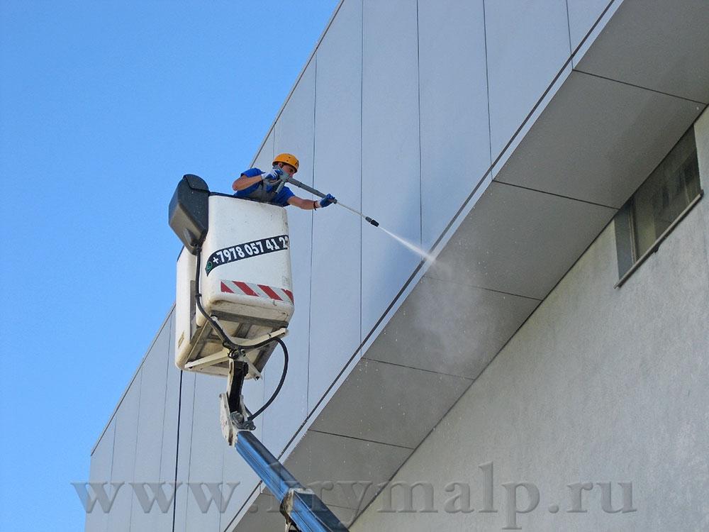 Мойка фасадов АВД в Севастополе