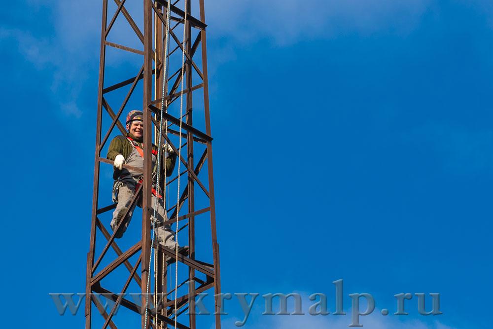 Высотные работы в Симферополе